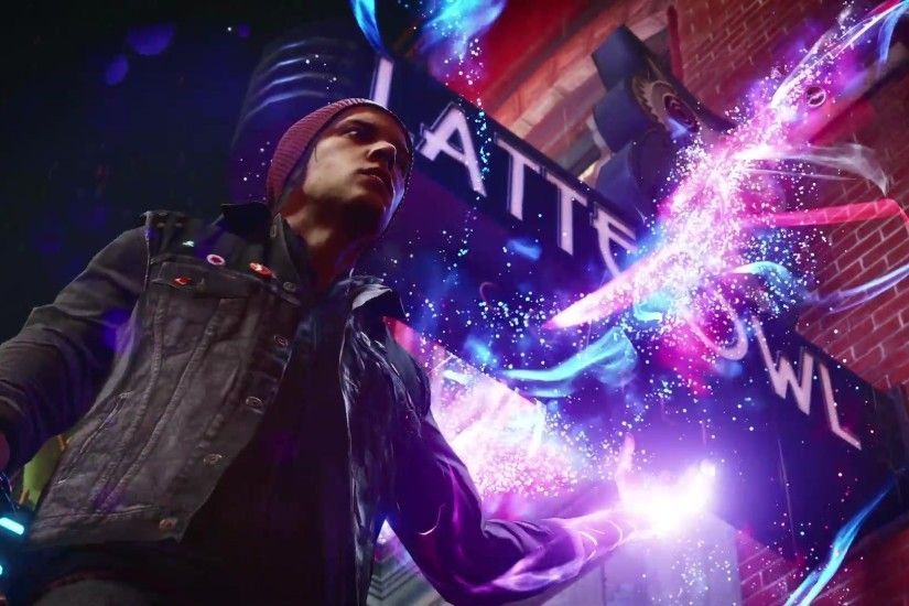 Infamous Second Son Blue Neon Wallpaper by XtremisMaster on 1920×1080  Infamous Second Son Wallpaper