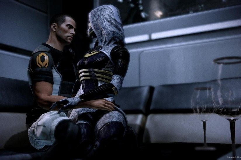 Mass Effect Love with Tali for 1920x1080