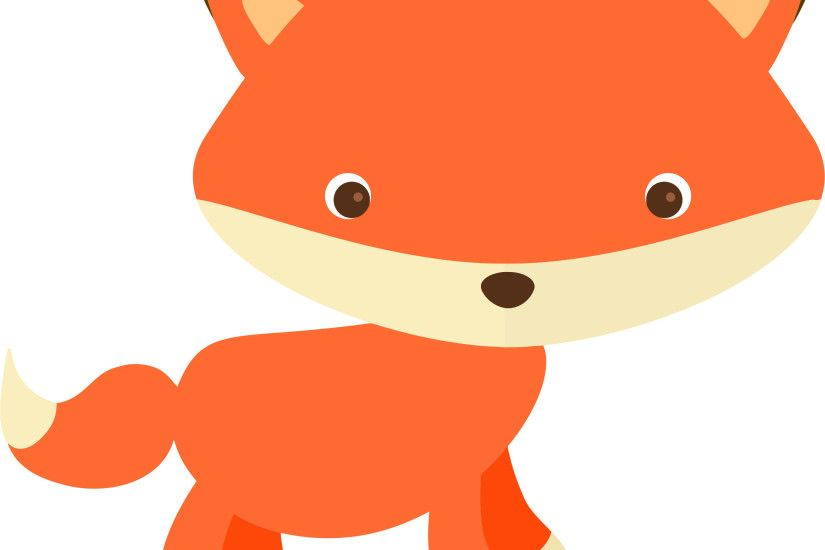 Cute Fox Without Background