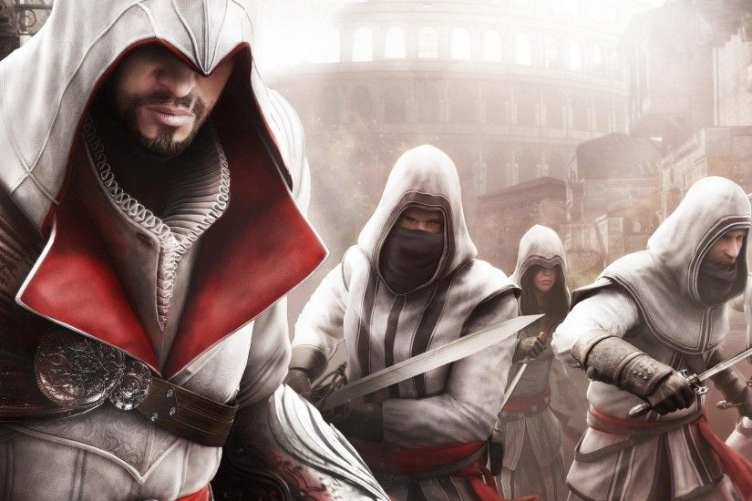 Assassins Creed: Brotherhood, Video Games Wallpapers HD / Desktop and  Mobile Backgrounds