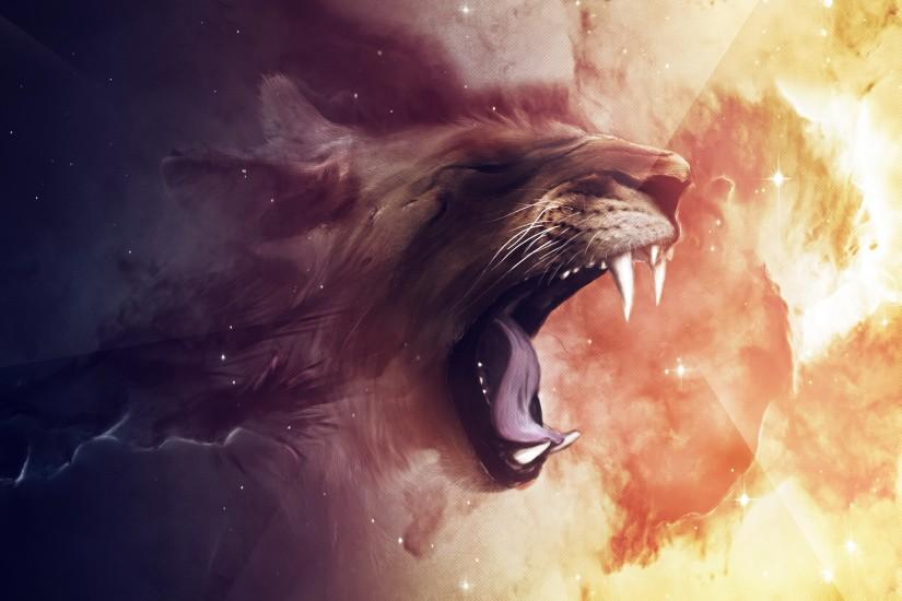 beautiful lion background 2560x1440 for android tablet
