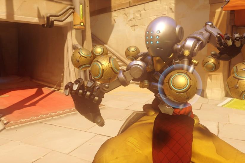 Overwatch : Zenyatta widescreen wallpapers