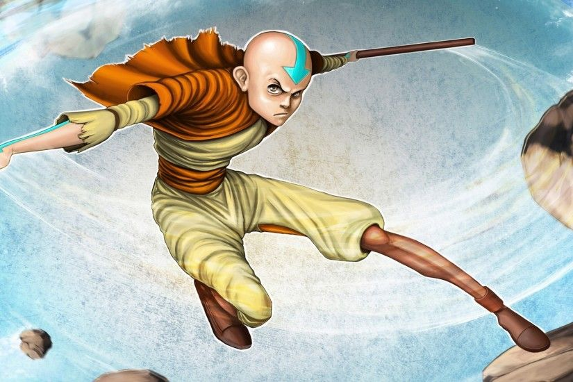 Preview wallpaper avatar, the last airbender, aang 1920x1080