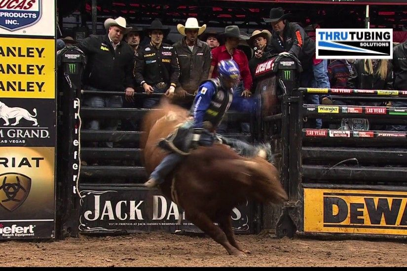 Kaique Pacheco rides Roll of the Dice for 86.25 points (PBR)
