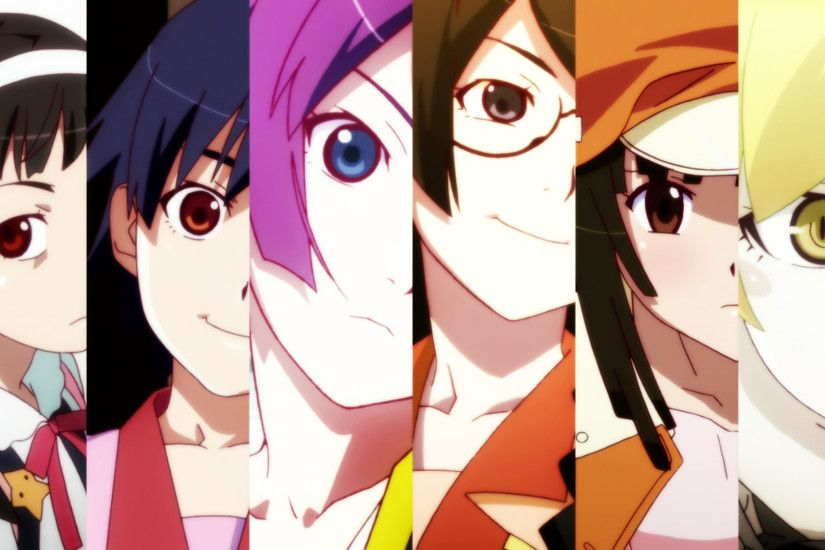 Monogatari (Series) Anime desktop wallpaers #13