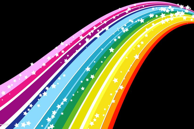dream vector rainbow hd wallpaper