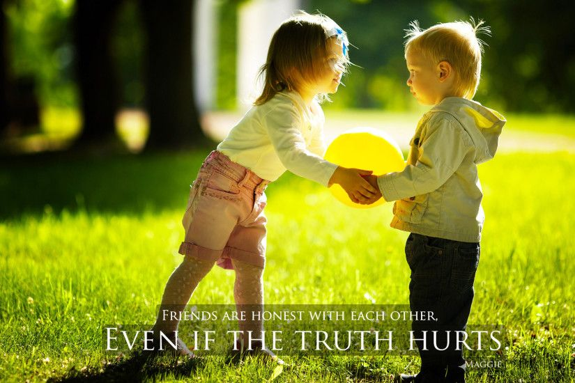 Boy And Girl Friendship Quotes Hd Images : Cute friendship wallpapers with  quotes quotesgram