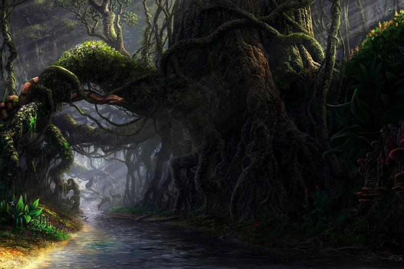 ... 158 Forest HD Wallpapers | Backgrounds - Wallpaper Abyss; Fantasy ...