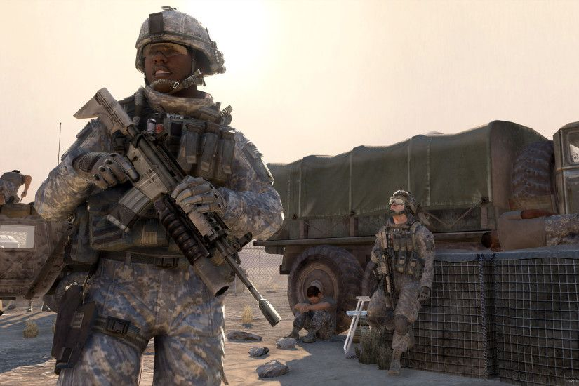 Modern Warfare 2 Soldiers for 2560x1440