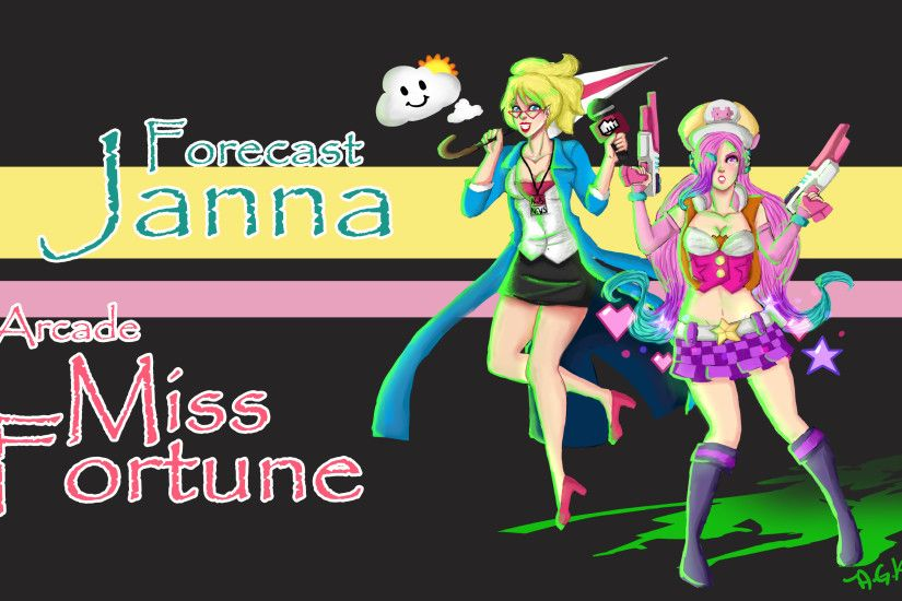 Forecast Janna Arcade Miss Fortune by AlmaGKrueger on DeviantArt