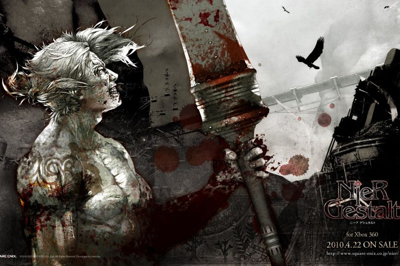 Tags: Anime, NieR, Nier (Character), Wallpaper