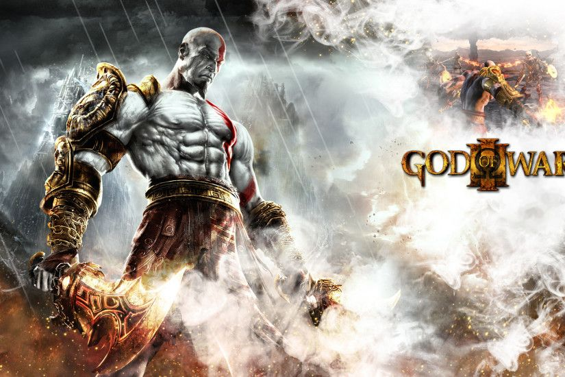 ... KRATOS - GOD OF WAR 3 by SONICX2011