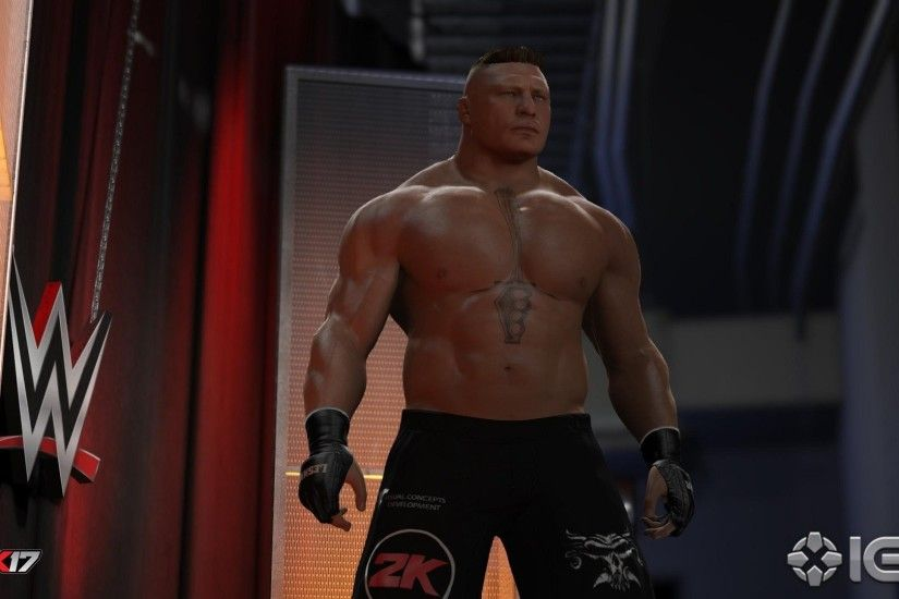 WWE 2K18 Brock Lesnar Wallpaper ...