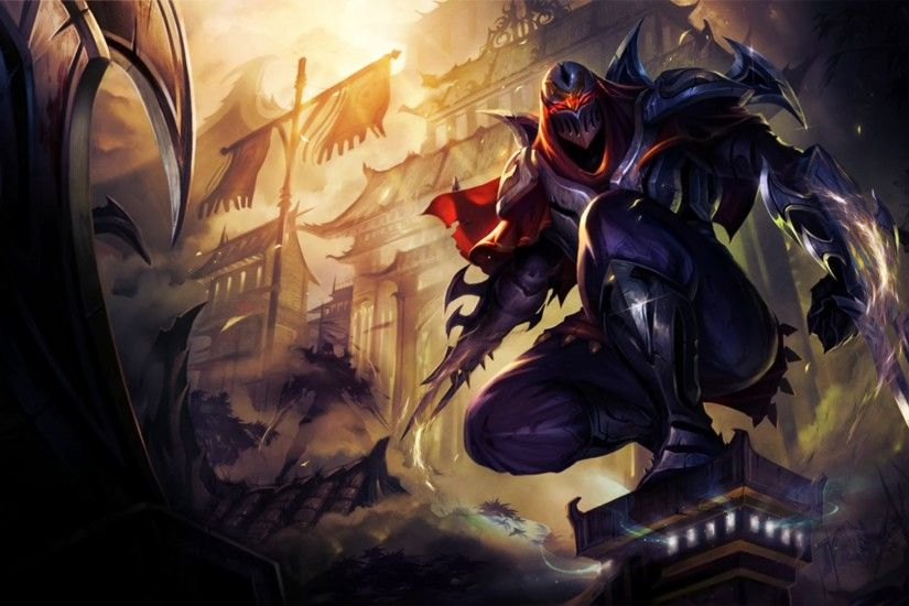 zed league of legends hd wallpaper lol champion 1920x1080
