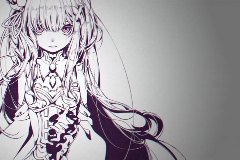 Anime - Re:ZERO -Starting Life In Another World- Emilia (Re: