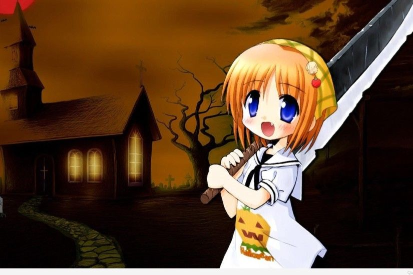 Anime-Halloween-Wallpaper
