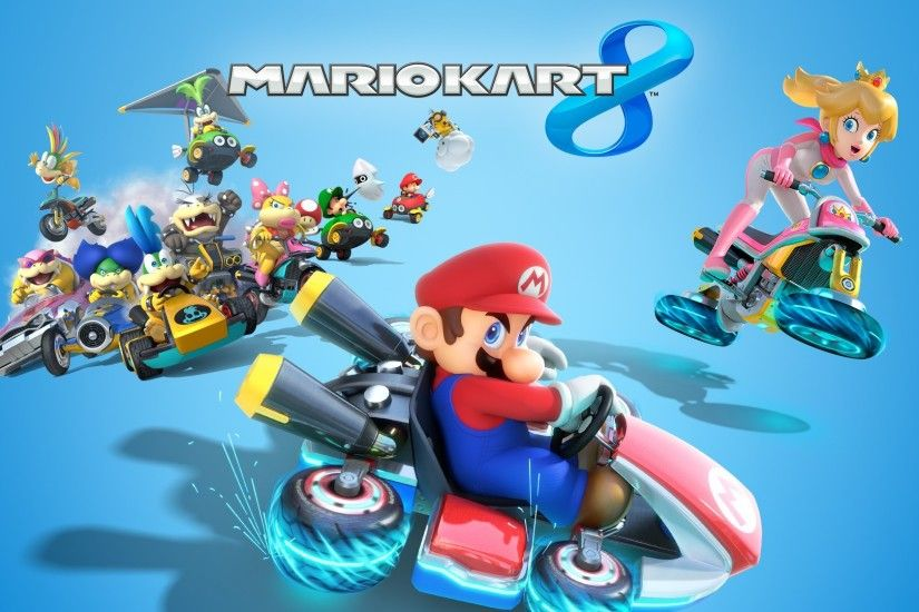 Mario Kart 8, Video Games, Toad (character), Mario Bros., Princess Peach,  Nintendo Wallpapers HD / Desktop and Mobile Backgrounds
