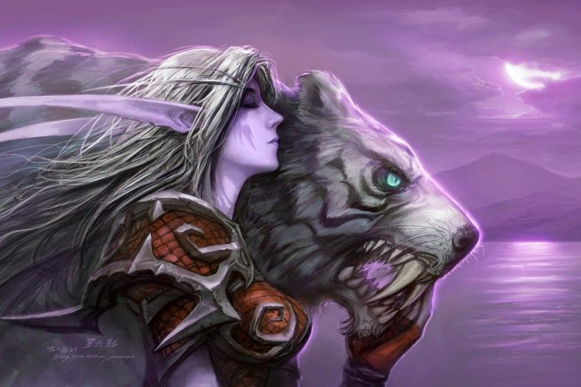 World Of Warcraft Night Elf 470216