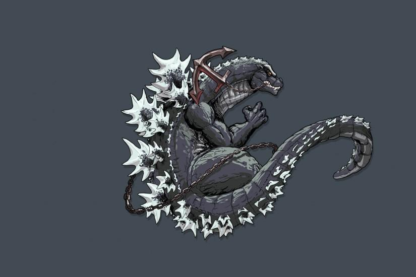 widescreen godzilla wallpaper 1920x1080 htc