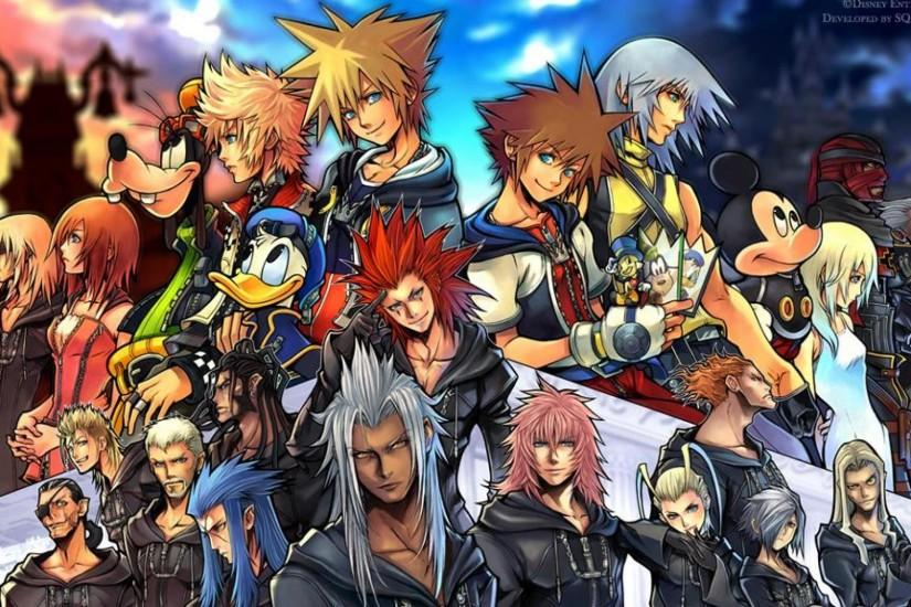 top kingdom hearts background 1920x1080 for ios