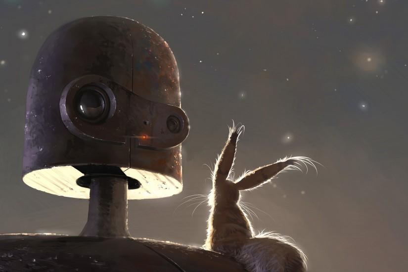 Robot from Castle in the Sky wallpaper 2560x1440 jpg