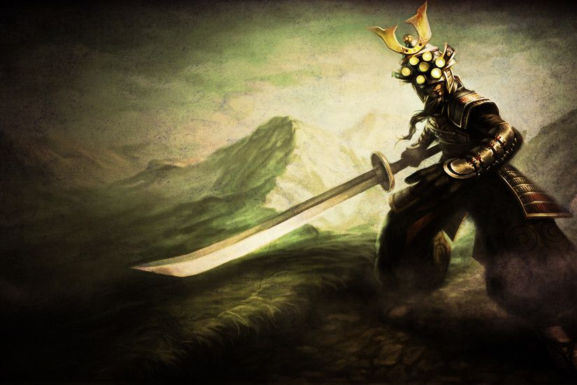 ... League of Legends - Master Yi Wallpaper by Soinnes