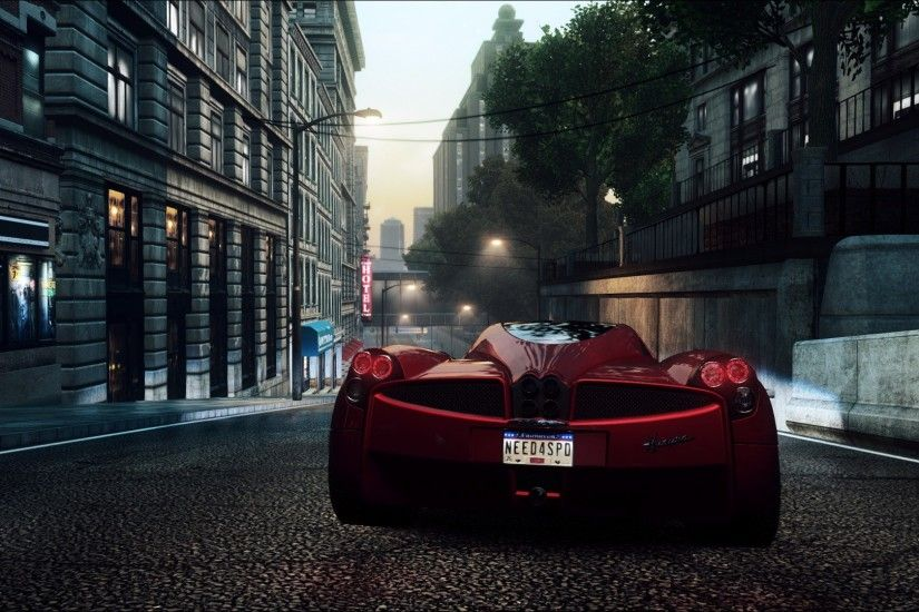 wallpaper cars · Pagani Huayra · burnout · sports cars · Need for Speed  Most Wanted