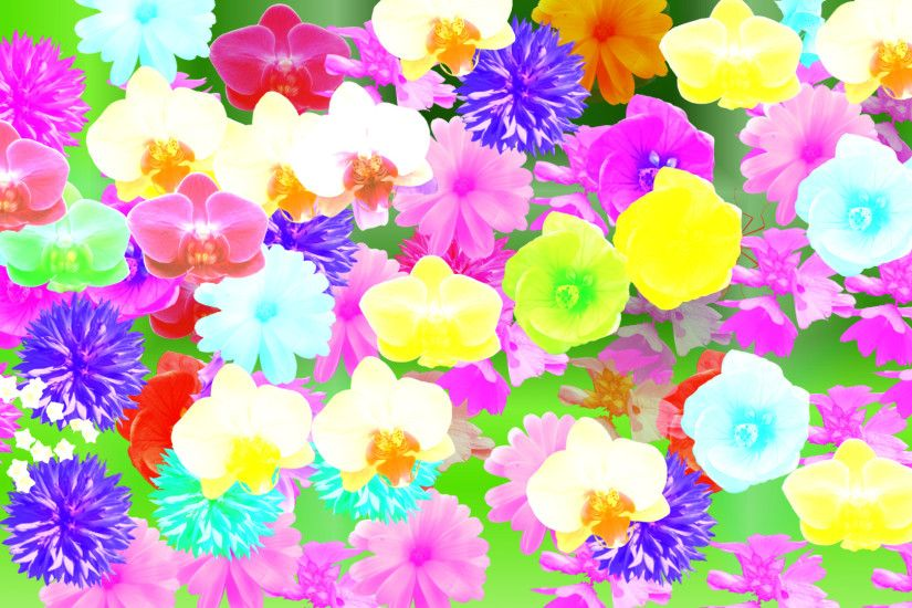Flower Background by Yvesia Flower Background by Yvesia