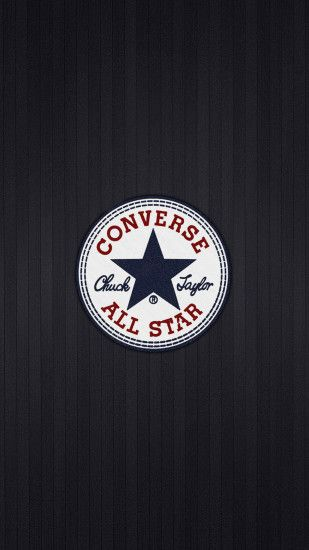 Converse All Star Chuck Taylor Logo Android Wallpaper ...
