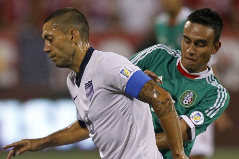 Clint Dempsey Jesus Zavala USA Mexico WC Qualifying 2013