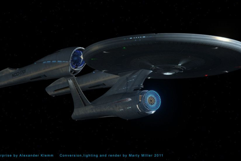 Click image for larger version Name: USS Enterprise Test Render 1.jpg  Views: ...