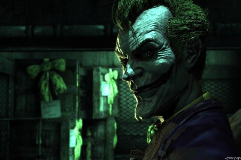 The Joker - a screenshot from The Batman: Arkham Asylum Click image for  full 1920x1080