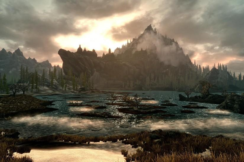 Skyrim Scenery Wallpaper Hd - Viewing Gallery
