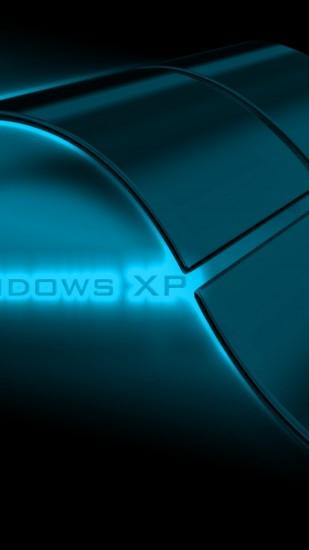 1080x1920 Wallpaper windows xp, system, glass, background, shadow
