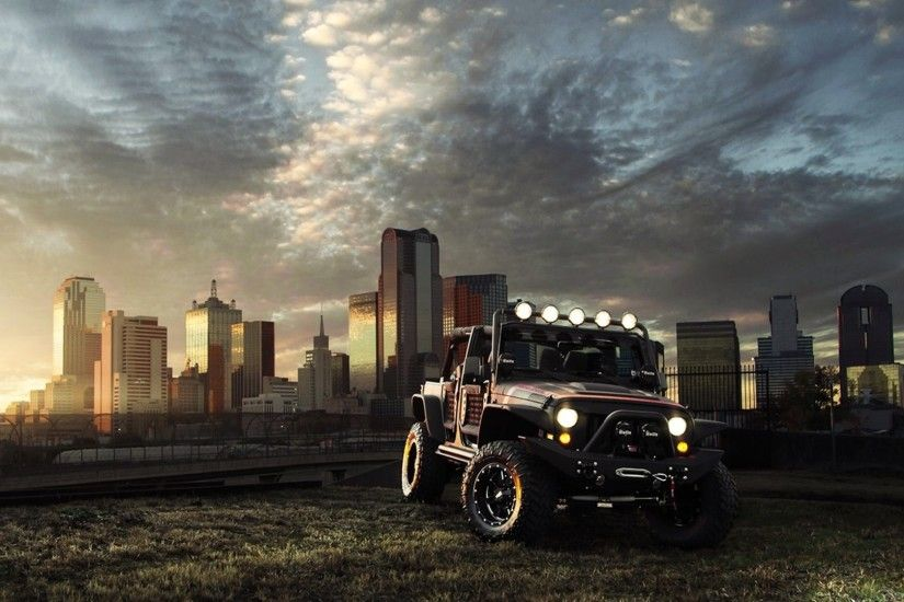 2016 Jeep Wrangler Black Hd Background