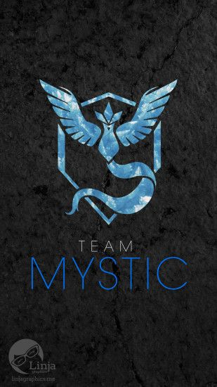 Phone wallpapers: Team Mystic Logo Solo