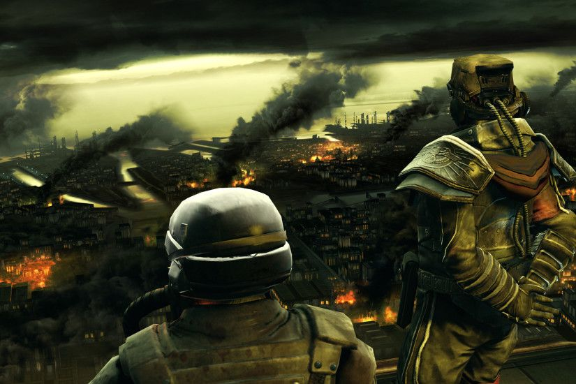 Killzone 2 - Overseeing Destruction Wallpapers