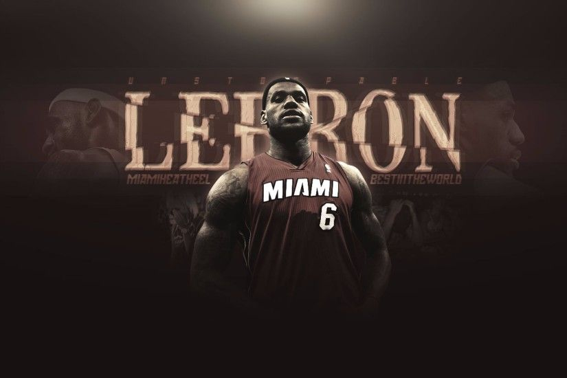 Heat 6 Lebron James 4K Wallpaper