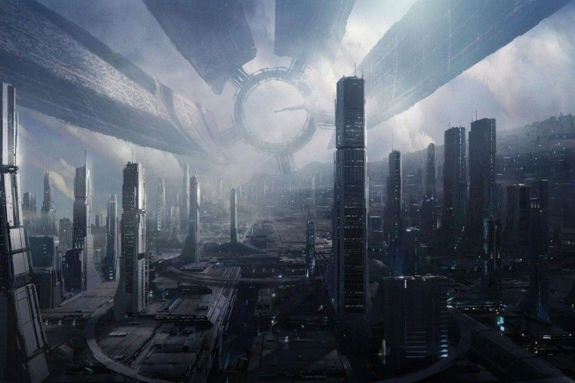 ... futuristic wallpapers wallpaper cave; 50 futuristic city wallpapers ...