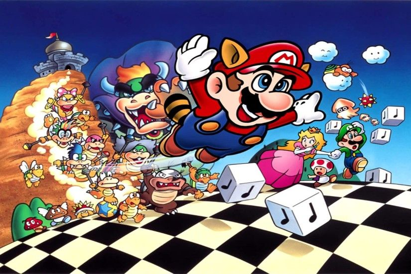 Music I adore #348 New Year Special 2013 Ending Theme Collection (Super  Mario Bros. 3)