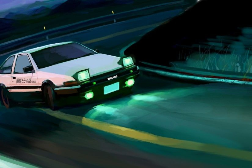 HD Wallpaper | Background ID:754563. 1920x1080 Anime Initial D ...