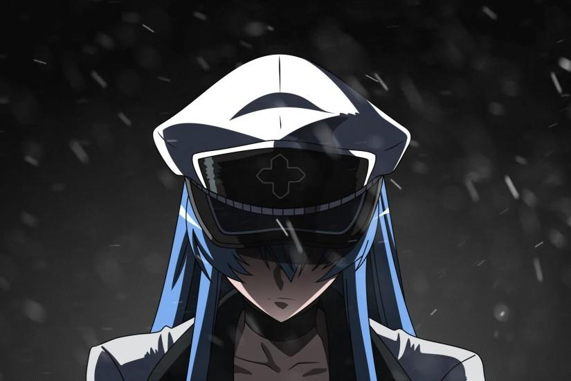 Anime Manga Akama Ga Kill Esdeath Girl Otaku HD Wallpaper