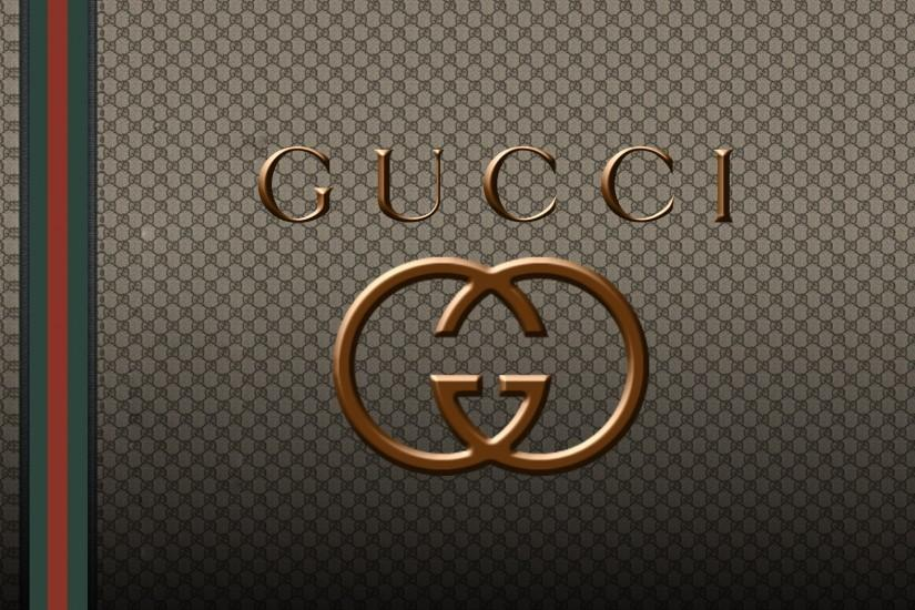 Gucci logo wallpapers HD pictures images.