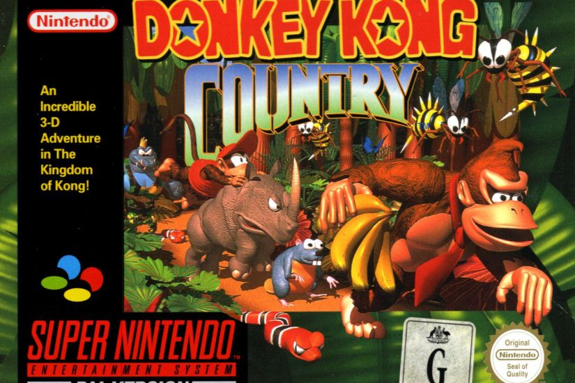 Video Game - Donkey Kong Country Diddy Kong Donkey Kong Wallpaper