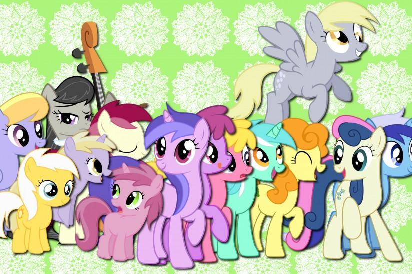 My Little Pony Friendship is Magic Background Pony Fun!