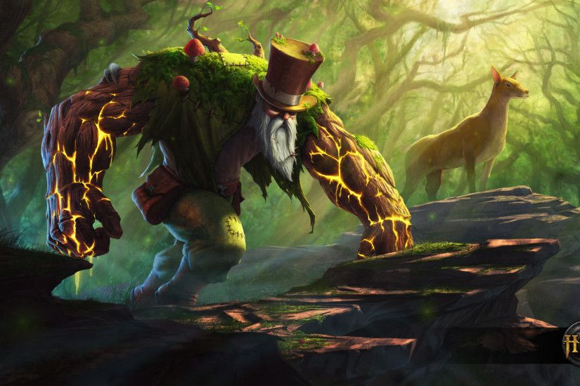 The Grand Druid – Deadlift Debut Avatar Wallpaper | Heroes of Newerth Lore