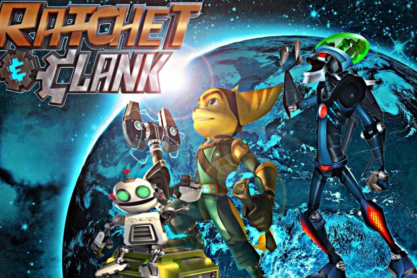 ... custom ratchet and clank wallpaper 2 by metarlon