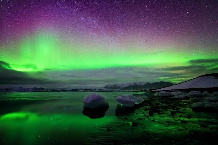 Description: The Wallpaper above is Iceland northern lights Wallpaper in  Resolution 1920x1200. Choose your