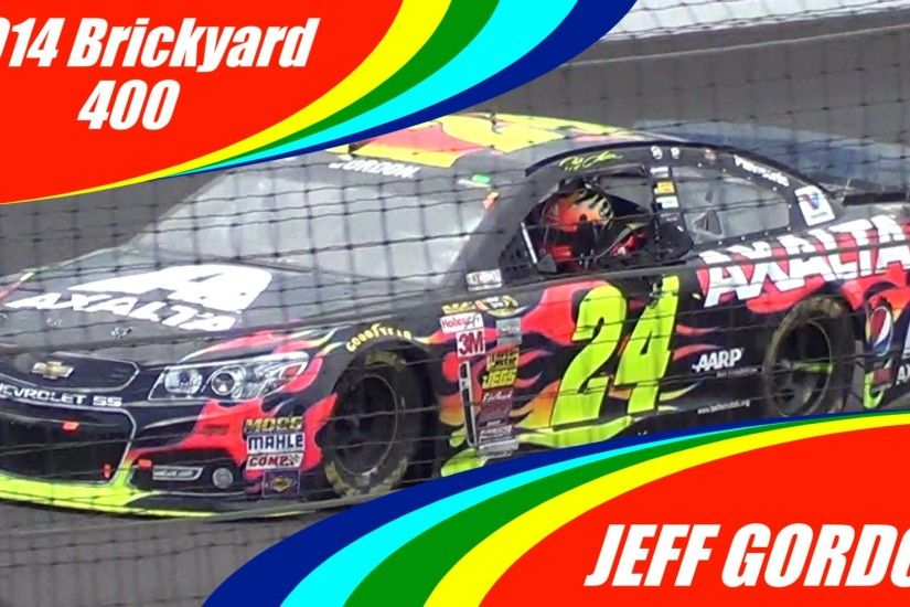 Jeff Gordon Wins the 2014 Brickyard 400 (PURE SOUNDS FROM THE STANDS)
