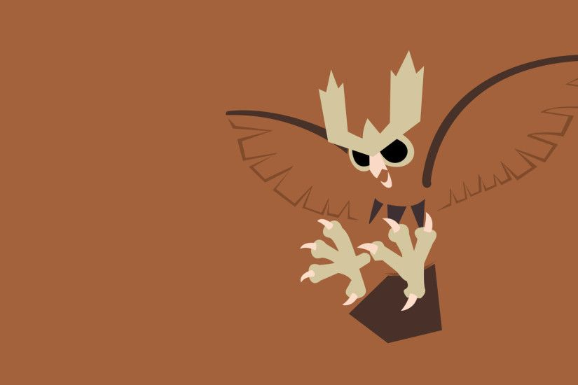 Noctowl by PokeTrainerManro